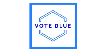 Vote Blue logo