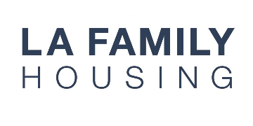 LA Family Housing  logo