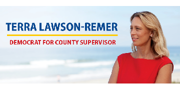 San Diego County Board of Supervisors - Office of Terra Lawson-Remer logo
