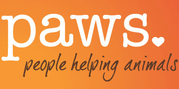 PAWS (Progressive Animal Welfare Organization) logo