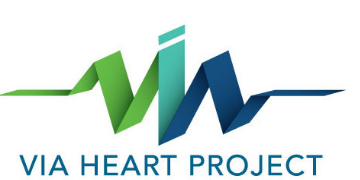 Via Heart Project logo