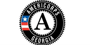 This is a national service opportunity with AmeriCorps logo