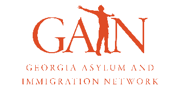 Georgia Asylum and Immigration Network (GAIN) logo