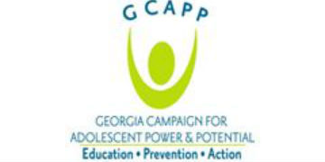 Georgia Campaign for Adolescent Power & Potential (GCAPP) logo