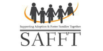 Supporting Adoption and Foster Families Together (SAFFT) logo