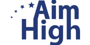 Aim High For High School logo