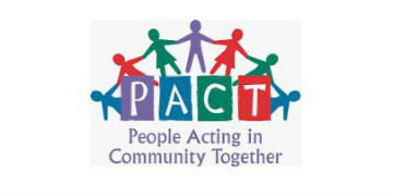 PACT: People Acting in Community Together logo