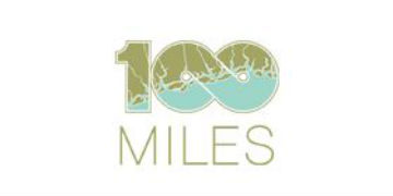 One Hundred Miles logo