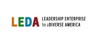 Leadership Enterprise for a Diverse America (LEDA) logo